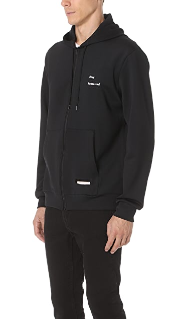 Satisfy Spacer Post Run Zip Hoodie