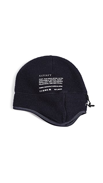 Satisfy Air Wool Sherpa Hat