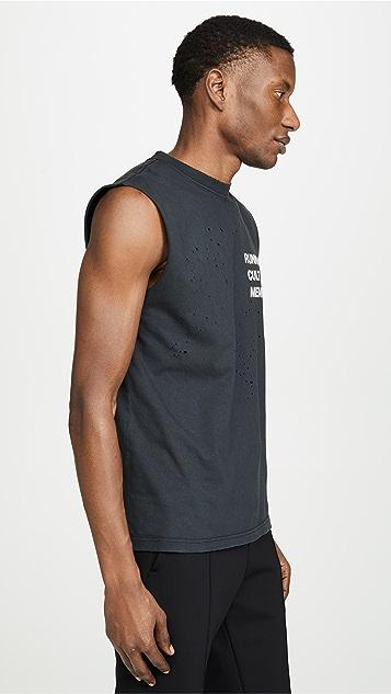 Satisfy Cult Moth Eaten Muscle T-Shirt