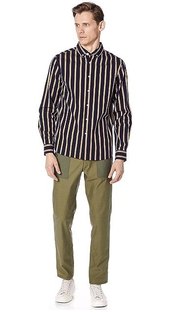 Saturdays NYC Crosby Striped Shirt