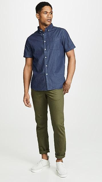 Saturdays NYC Esquina Button Down Shirt