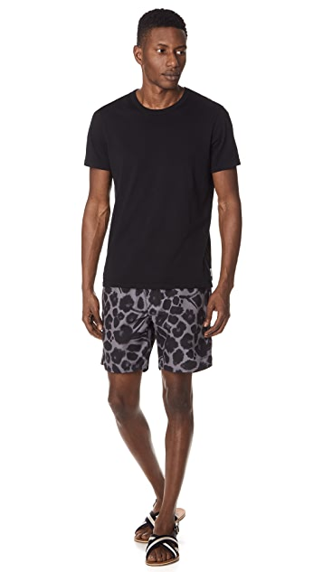 Saturdays NYC Timothy Water Floral Swim Shorts