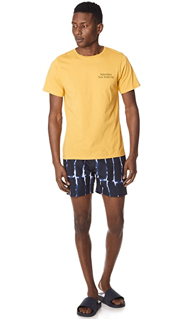 Saturdays NYC Colin Waterstack Swim Trunks