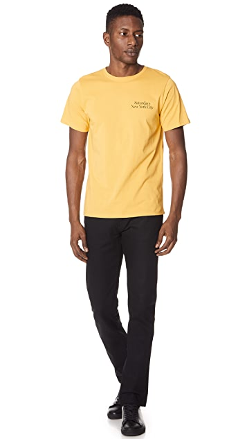 Saturdays NYC Miller Standard Tee