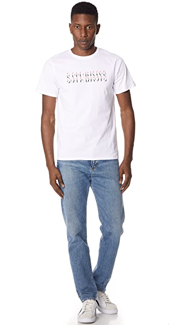 Saturdays NYC Strikethrough Tee