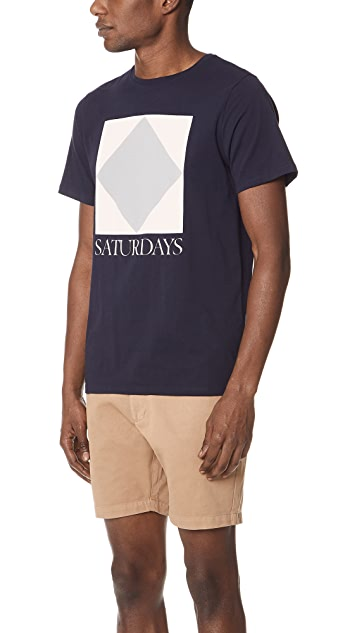 Saturdays NYC Diamond Tee