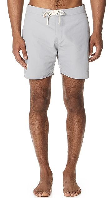 Saturdays NYC Colin Solid Board Shorts