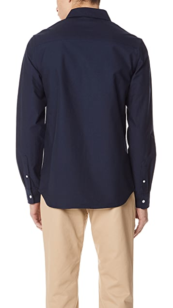 Saturdays NYC Crosby Oxford Long Sleeve Shirt