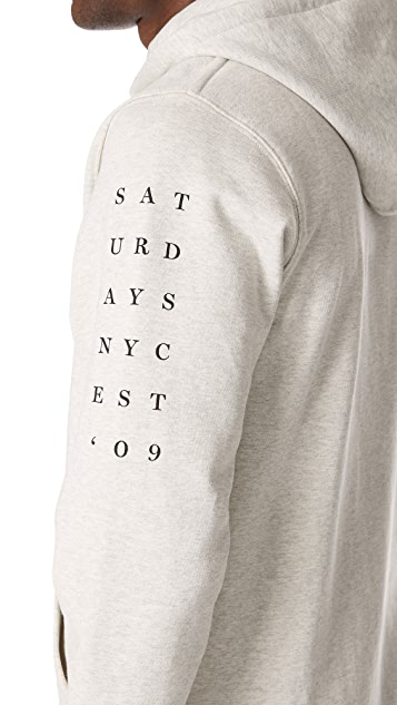 Saturdays NYC Ditch Stacked 09 Sweatshirt