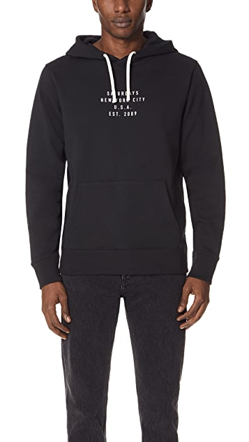 Saturdays NYC Ditch Established USA Sweatshirt