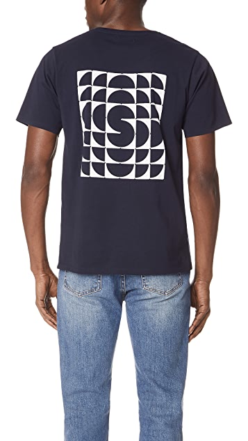 Saturdays NYC Kaleidoscope Short Sleeve Tee