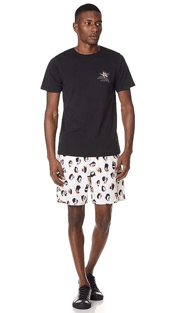 Saturdays NYC Timothy Spots Swim Shorts