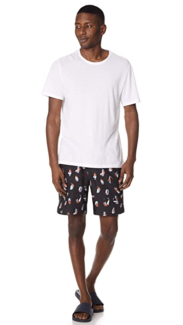 Saturdays NYC Timothy Spots Swim Shorts