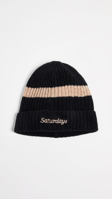 Saturdays NYC Plush Beanie