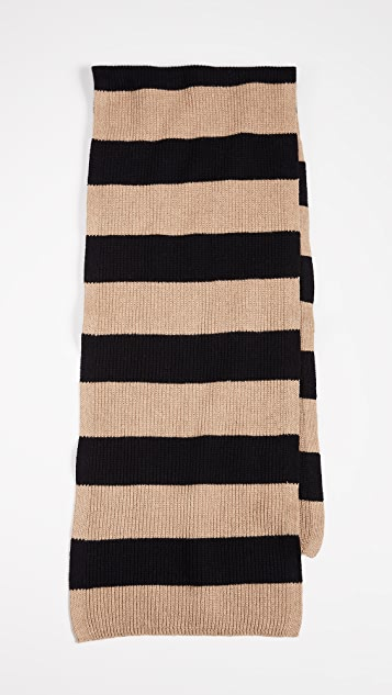 Saturdays NYC 1x1 Rib Scarf
