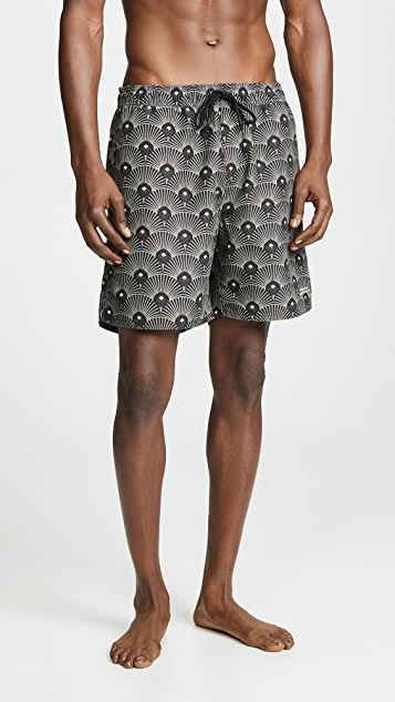 Saturdays NYC Timothy Deco Swim Shorts