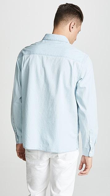 Saturdays NYC Magnus Long Sleeve Shirt