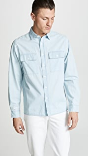 Saturdays NYC Magnus Long Sleeve Shirt