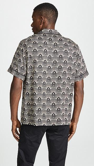 Saturdays NYC Cameron Deco Short Sleeve Shirt