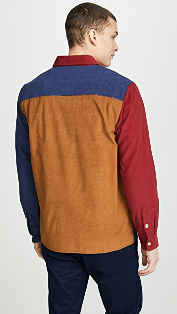Saturdays NYC Nolan Multi Cord Shirt