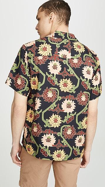Saturdays NYC Canty Peony Shirt