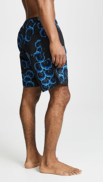 Saturdays NYC Tinothy Orchid Swim Shorts
