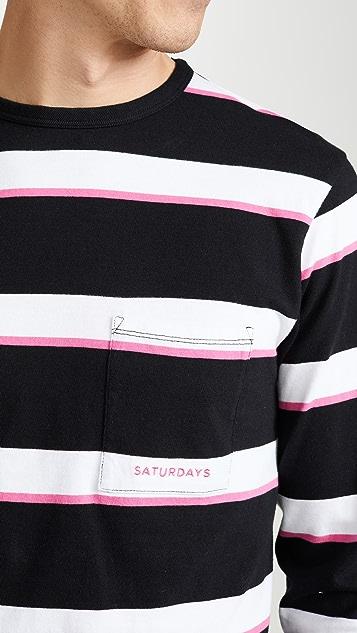 Saturdays NYC James Long Sleeve T-Shirt