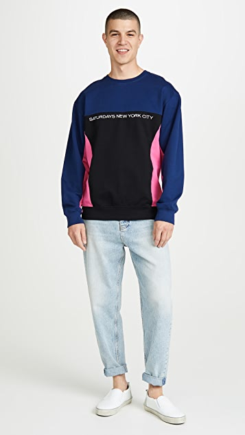 Saturdays NYC Bondi Crew Neck Sweatshirt