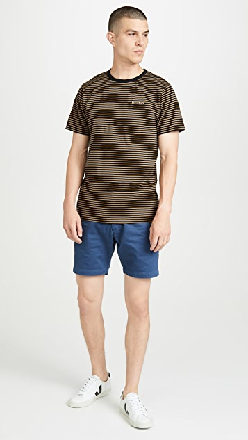 Saturdays NYC Brandon Feeder Short Sleeve Tee