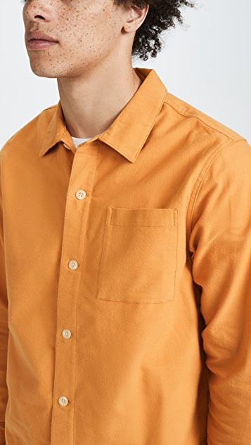 Saturdays NYC Alessandro Long Sleeve Shirt