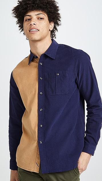 Saturdays NYC Mott Cord Long Sleeve Shirt