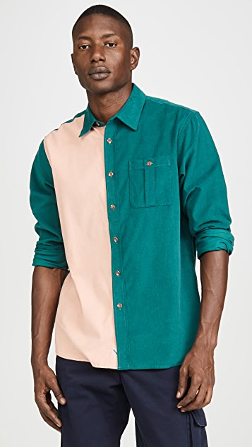 Saturdays NYC Mott Cord Long Sleeve Shirt