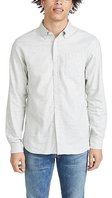 Saturdays NYC Crosby Flannel Long Sleeve Shirt