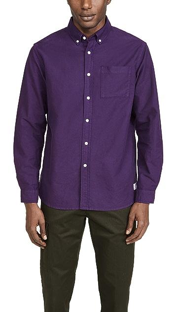 Saturdays NYC Crosby Oxford Longsleeve Shirt