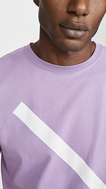 Saturdays NYC Slash Logo Short Sleeve Tee