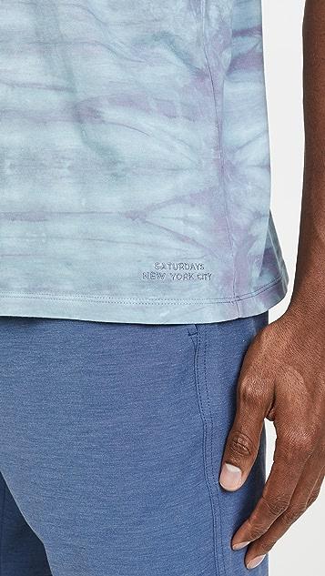 Saturdays NYC Randall Mineral Wash T-Shirt