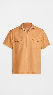 Saturdays NYC Gibson Double Pocket Short Sleeve Shirt