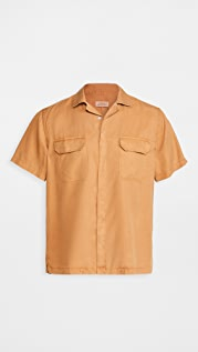 Saturdays NYC Gibson Double Pocket Short Sleeve Shirt