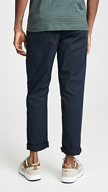 Save Khaki Light Twill Full Trousers