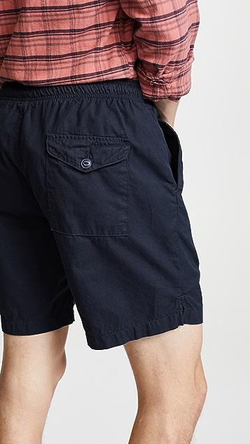 Save Khaki Light Twill Easy Shorts