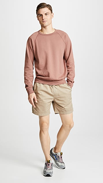 Save Khaki Light Twill Easy Shorts