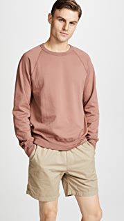 Save Khaki Fleece Crew Sweatshirt