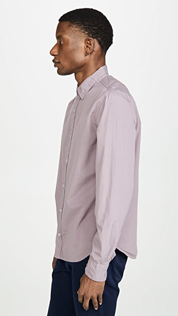 Save Khaki Poplin Easy Shirt