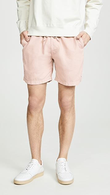 Save Khaki Corduroy Easy Shorts