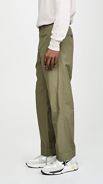 Save Khaki Poplin Summer Chinos