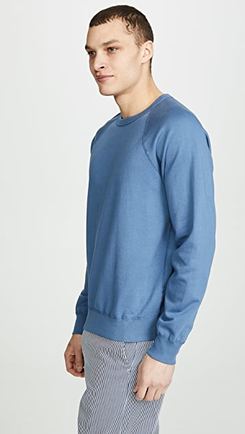 Save Khaki Supima Fleece Crew Sweatshirt