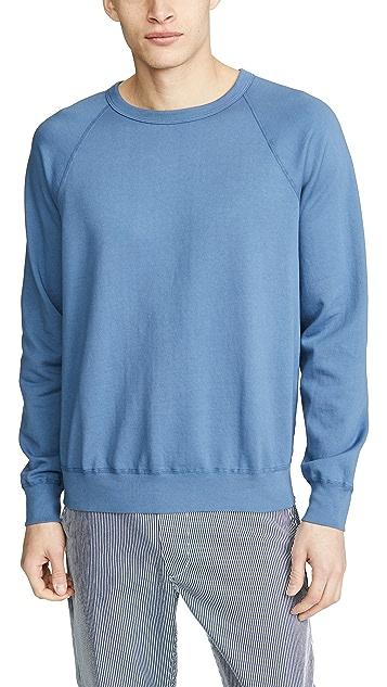 Save Khaki Supima Fleece Crew Sweatshirt