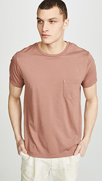 Save Khaki Supima Jersey Pocket T-shirt