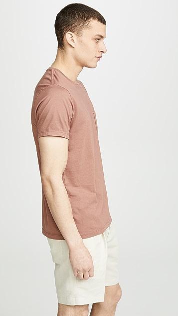 Save Khaki Supima Jersey Pocket T-shirt