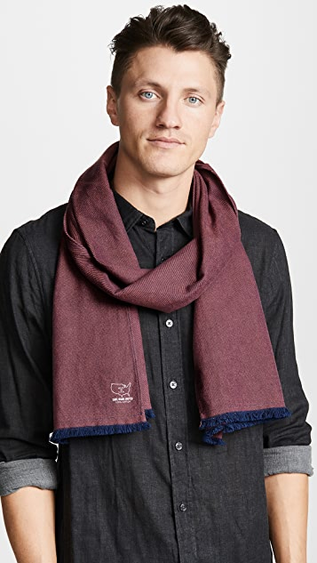 Save Khaki Twill Flannel Scarf
